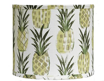 Pineapples Custom Lamp Shade (Choose Size)