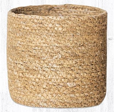 SGB-01 Natural Sedge Grass 5 inch Basket