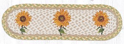 ST-OP-529 Sunflower Oval Stair Tread