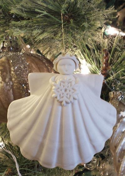 Snowflake Angel - 3 inch