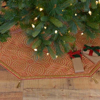 Soleil 60 inch Tree Skirt