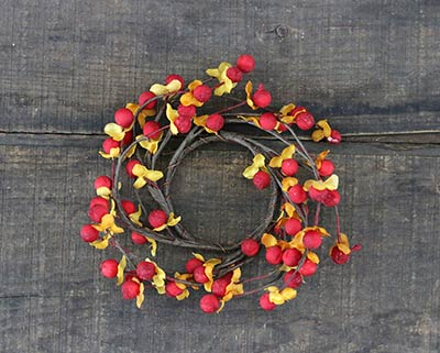 Bittersweet Candle Ring - 2 inch