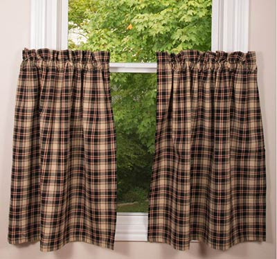 Hartford 36 inch Tiers (Cafe Curtains)
