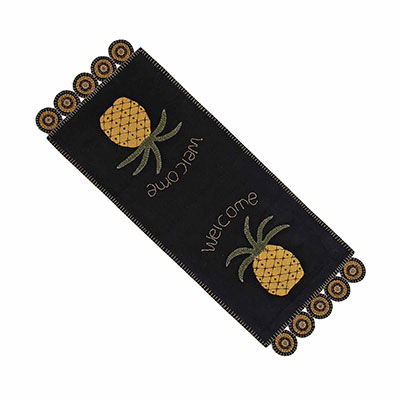 Pineapple Welcome 36 inch Table Runner