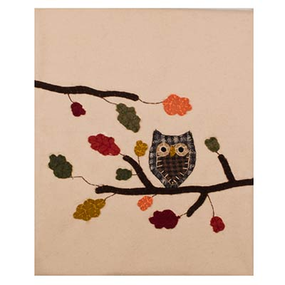 Harvest Owl Table Runner