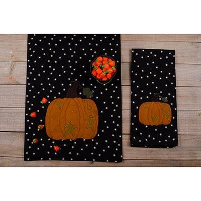Starry Starry Pumpkin Table Runner
