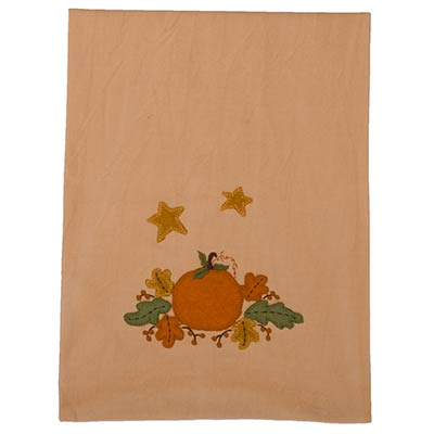 Harvest Pumpkin & Leaves Table Runner