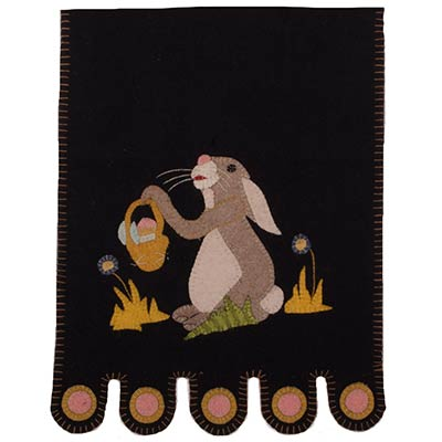 Bunny and Basket Table Runner