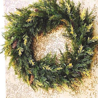 Prickly Pine Wreath