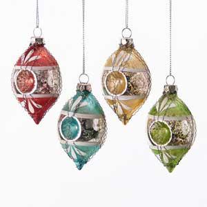 Finial Reflector Ornament