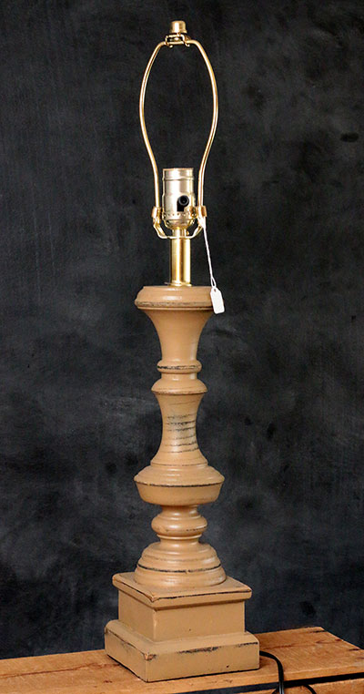 Covington Lamp Base - Nutmeg