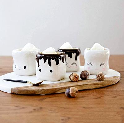 Marshmallow Mugs (Set of 4)