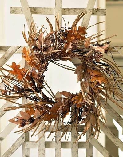Fall Gleaning 24 inch Wreath
