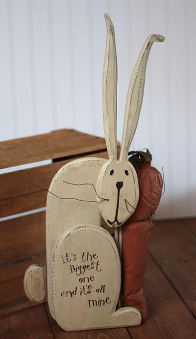 All Mine Wood Rabbit