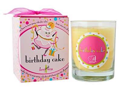 Birthday Cake Jar Candle - Judy Havelka