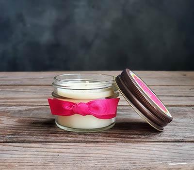 Birthday Cake Jelly Jar Candle - Judy Havelka