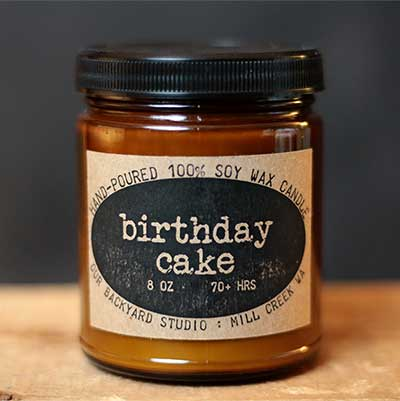 Birthday Cake Soy Jar Candle