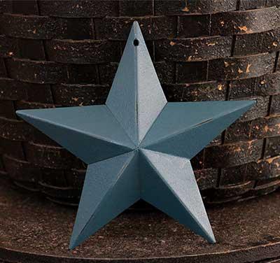 Teal Blue Barn Star (Multiple Size Options)