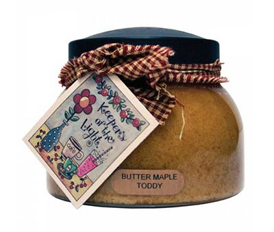 Butter Maple Toddy Keepers of the Light Jar Candle - Mama