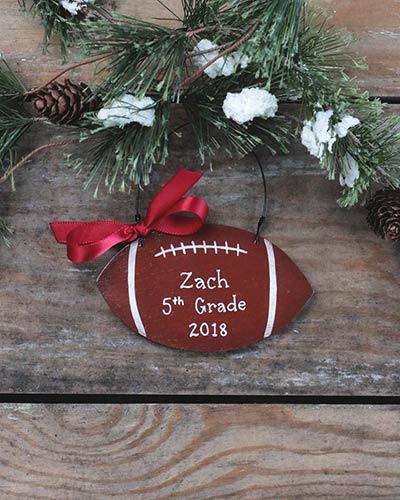 Football Personalized Ornament