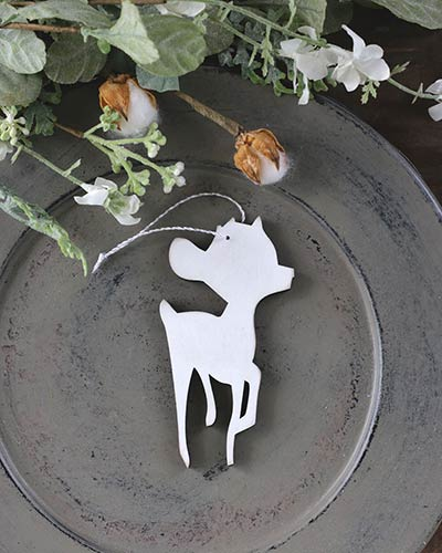 Baby Deer Personalized Ornament
