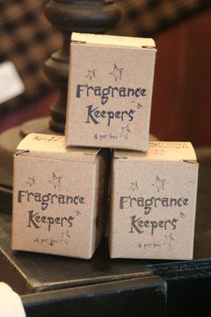 Pear Vanilla Fragrance Keepers (Box of 4 tarts)