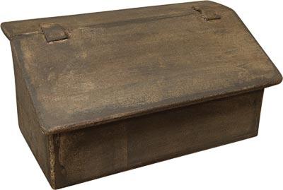 Aged Wood Mailbox