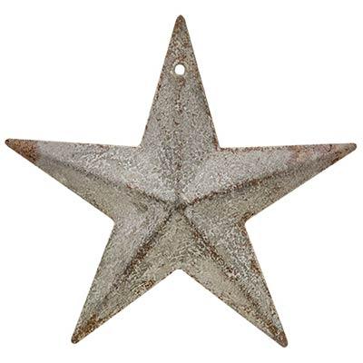Galvanized Metal Barn Star, 3.5 inch