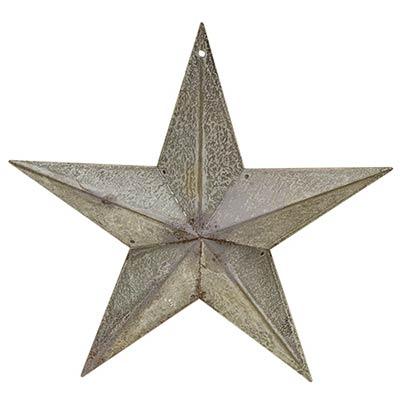 Galvanized Metal Barn Star, 8 inch