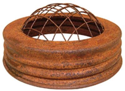 Rusty Frog Jar Lid