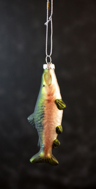 Coho Salmon Ornament