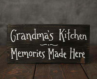 Grandma's Kitchen Hand Lettered Sign (Customization available!)