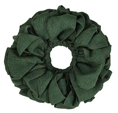 Burlap Wreath - Green (15 inch)