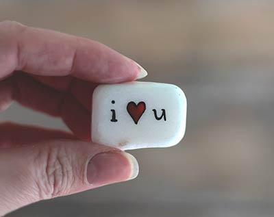 I Love You Pocket Rock