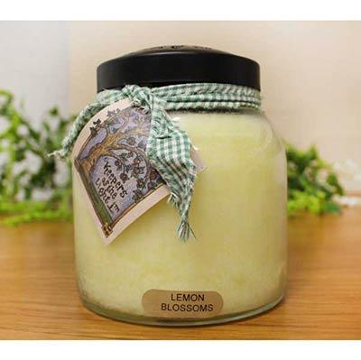 Lemon Blossom Keepers of the Light Jar Candle - Papa