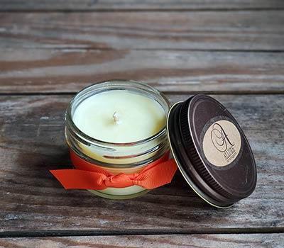 Marmalade Jelly Jar Candle - Judy Havelka