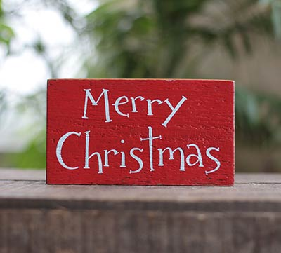 Merry Christmas Small Sign