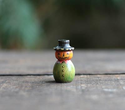 Mini Jack o'Lantern Art Doll