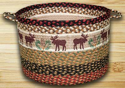 Moose & Pinecone Utility Basket