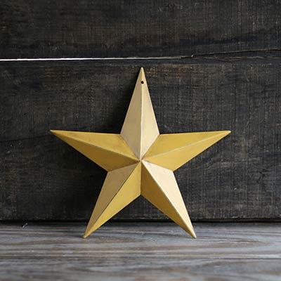Mustard Gold Barn Star (Multiple Size Options)