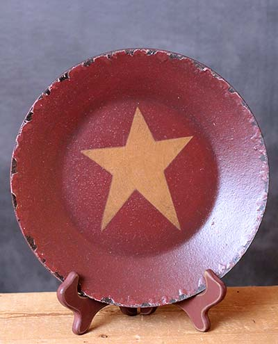Chippy Plate with Star - Mustard Star