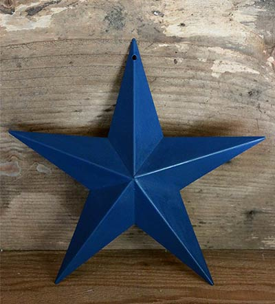 Nautical Blue Barn Star (Multiple Size Options)