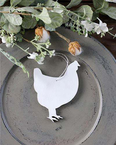 Chicken Personalized Ornament