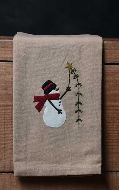 Pine Tree Wishes Towel