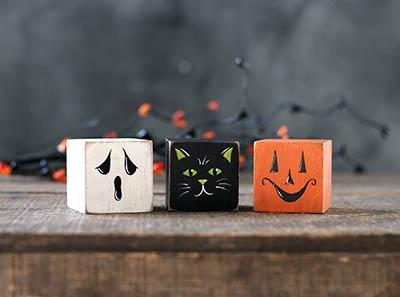 Halloween Critter Cubes (Set of 3)