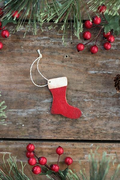 Mini Stocking Ornament