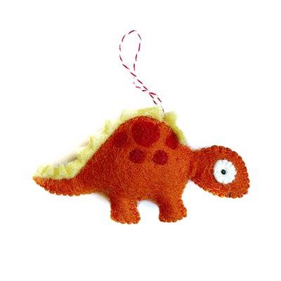 Stegosaurus Wool Ornament