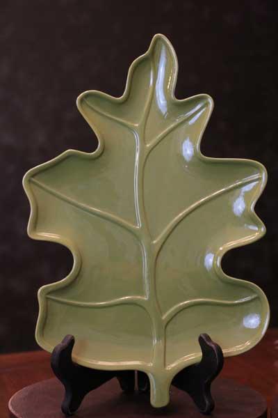 Oak Leaf Platter