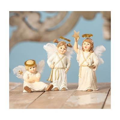 Center Stage Angels (Set of 3)