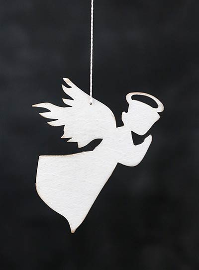 Flying Angel Personalized Ornament
